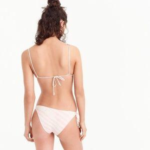 J. Crew Swim - NWT J. Crew Playa Printed Ruched Bikini (SET)